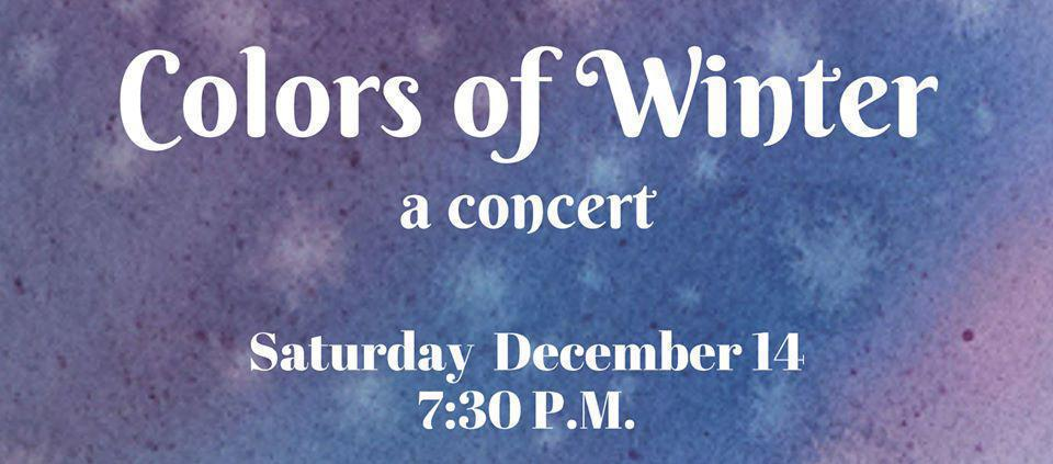 RWCC Winter Concert: Colors of Winter